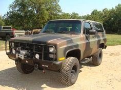 1984 Chevrolet M1009 CUCV Blazer K5 military 4x4 A/C Radio, US $13,300.00, image 1