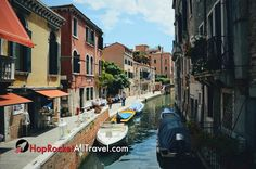 Canal Venice Italy #travel #traveling #TFLers #vacation