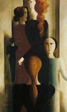1925 Oscar Schlemmer Escalier de femmes
