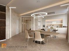 Фото столовая из проекта «Дизайн четырехкомнатной квартиры 117 кв.м. в стиле минимализм, ЖК «Премьер палас»»