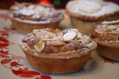 Stollen Topped Mince Pies & Clementine and Apple Mince Pies