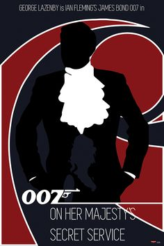 James Bond 007 - Poster Special Edition - On Her Majesty's Secret Service 2