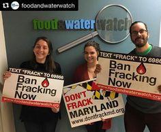 #Repost @foodandwaterwatch with @repostapp  Food & Water Watch Maryland joining #FrackFreeFriday! #DontFrackMD #banfracking
