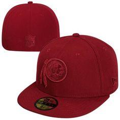 New Era Washington Redskins Basic 59FIFTY Fitted Hat - Burgundy 50ce183dbb7