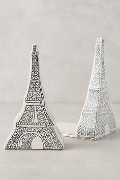 Les Tours Eiffel Bookends #anthropologie