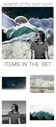 """""""☁~ dreamin of my own world ~☁"""" by fanatical-fangirl ❤ liked on Polyvore featuring art and cassidyartsets"""