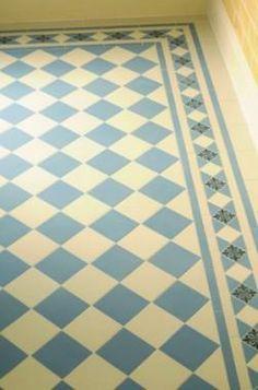 Ryan's Mozaiektegelvloer, patroon: Dorchester