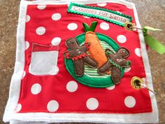 The Quiet Book Blog: Christmas Quiet Book Kit Giveaway