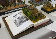 By Editor — Here's some more eye candy from the 2016 Moson Model Show - another selection of the military dioramas. Feel free to comment on and discuss your favorites....
