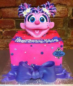 Abby Cadabby And Elmo Cakes ABBY CADABBY AND ELMO CAKE - Elmo and abby birthday cake