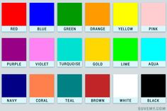 all colours name with picture pdf के लिए इमेज . Brown Things brown color name in hindi Colors Name In English, All Colours Name, Types Of Colours, All The Colors, Brown Color Names, Colour Names List, Color Names Chart, Color Charts, Kids Math Worksheets