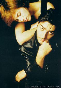 Charlotte Gainsbourg and Yvan Attal, Cut Magazine (Japan), November 1997
