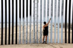 Mexican Artists Are Using the Threat of Trump's Wall to Fuel Inspiration Ana Teresa Fernandez, Erasing the Border (Borrando la Frontera), 2012. Courtesy of the artist and Gallery Wendi Norris, San Francisco.