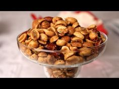 Holiday Spiced Nuts Recipe| Laura in the Kitchen