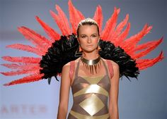 Dive in: The funnest, brightest looks from Swim Week (Joe Klamar / AFP - Getty Images)