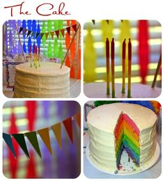Color and art Birthday Party
