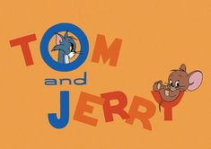Tom and Jerry Chuck Jones Title Card Print by PPPeanuts, Watch Cartoons, Retro Cartoons, Classic Cartoons, Vintage Cartoon, Tom And Jerry Kids, Tom Et Jerry, Tom And Jerry Cartoon, William Hanna, Nostalgia