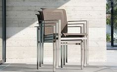 Stacking chairs Stacking Chairs, Bar Stools, Patio, Table, Furniture, Home Decor, Bar Stool Sports, Decoration Home, Terrace