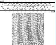 Ponto Jacquard- tear de pregos - knitting board