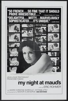 MY NIGHT AT MAUD'S (by Eric Rohmer)
