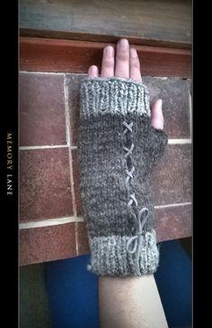 mitones sin dedos
