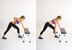 """Här hittar du övningarna till passet """"Styrketräningspass A"""" från träningsprogrammet """"10 kilo på 6 veckor"""". Dessa bör du göra en gång i veckan."""