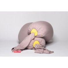 bbhugme gravidpute og ammepute Dusty Pink - Lemon multifunksjonell