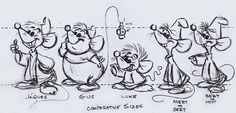 The Mice Model Sheet