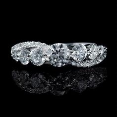 The best engagement rings Wedding Rings Solitaire, Diamond Solitaire Rings, Wedding Ring Bands, White Gold Wedding Bands, White Gold Rings, Tanzanite Ring, Best Engagement Rings, Band Rings, Jewelry