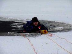 Lena Larsson - Vinterbad på #långfärdsskridskor 2010-01-30