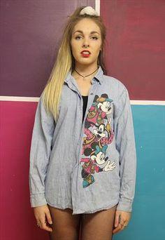 5c2bd43ce038e Vintage+90 s+Disney+grunge+shirt Grunge