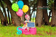 1st Birthday Pic! love this now I need to find a suitcase
