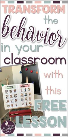 Are you frustrated with how bad behavior has gotten in your classroom? With this free activity and lesson plan, your students will learn to respect you, your classroom, and each other!