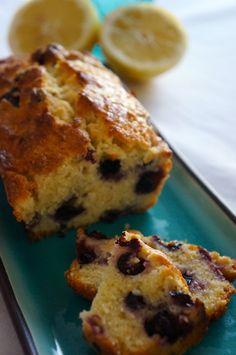 BlueBerry Buttermilk Bread Pain à la myrtille, citron et lait ribot