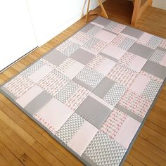 Gris Rose, Motifs, Quilts, Couture, Blanket, Deco, Etsy, Home, Scrappy Quilts