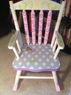 LeiLanie s rocking chair! on Pinterest  Rocking Chairs, Children ...
