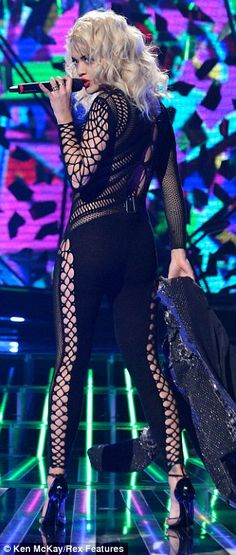 Rita Ora performing on The X-Factor 2012. I think Leigh Anne has something like this too I believe
