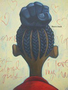 Black Power Found at Black is Black on Facebook