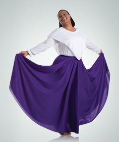 Body Wrappers Adult Praise Dance Skirt- 502
