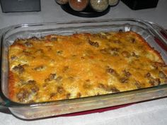Breakfast Casserole, good for large groups