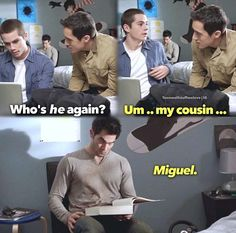 Cousin Miguel  | Teen Wolf