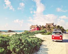 A great guide to Tulum and surrounding areas by WhirlyBirdBlog.com. The highlights: a VW Bug that sells fresh fruit and cane juices and the ruins at Coba, including the tallest Mayan pyramid in the Yucatan - Nohoch Mul.