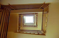 como - novocomum interior 2 stairwell looking up