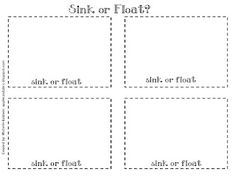 Printables Sink Or Float Worksheet pinterest the worlds catalog of ideas heres a great post detailing sink or float lesson recording sheet included