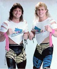 The Rockers #WWF #80s #90s #Wrestling #Retro #Vintage