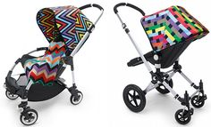 Bugaboo meets Missoni – Cameleon and Bee prams pop with pattern and colour! – Babyology