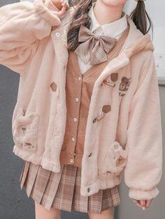 Korean Girl Fashion, Lolita Fashion, Cute Fashion, Fashion Outfits, Pastel Fashion, Japanese Outfits, Korean Outfits, Japanese Kawaii Fashion, Aesthetic Fashion