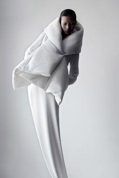#White #Fashion #Silhouette