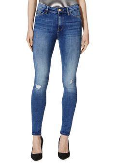 High waisted black skinny jeans tesco