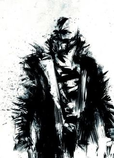 Bane ~ The Dark Knight Rises art (Batman) marvel-dc-comics-tribute Comic Book Characters, Comic Character, Comic Books Art, Comic Art, Comic Villains, The Dark Knight Trilogy, The Dark Knight Rises, Batman The Dark Knight, Nananana Batman